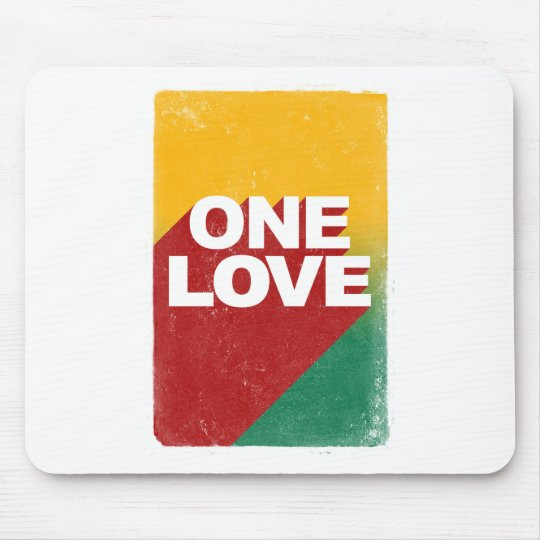 One Love Poster Mouse Pad