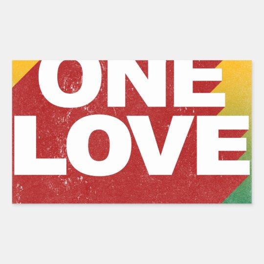 One Love Poster Sticker