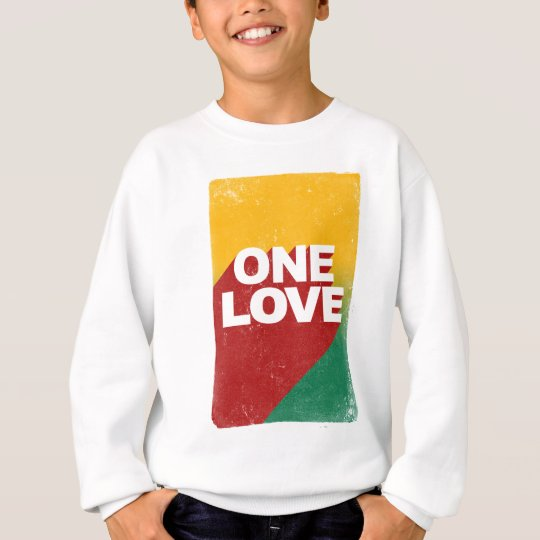 One Love Poster Sweatshirt
