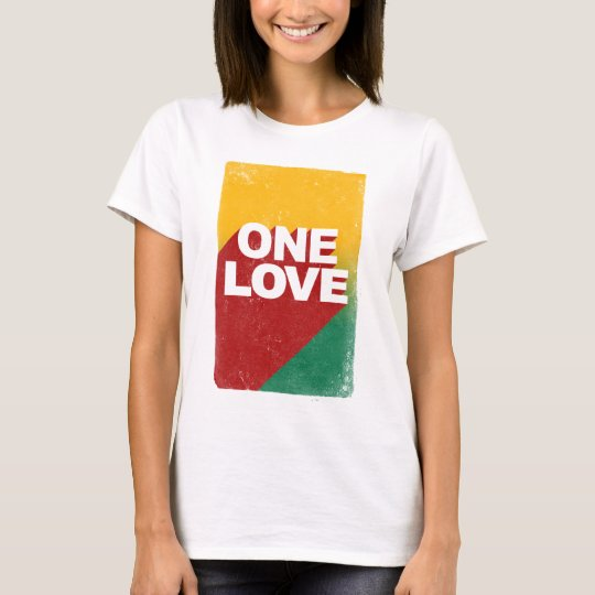 One Love Poster T-Shirt