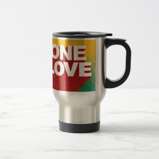 One Love Poster Travel Mug