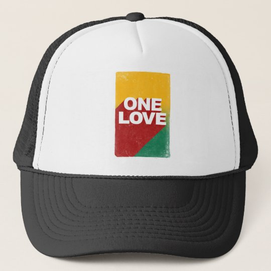 One Love Poster Trucker Hat
