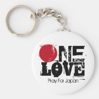 One Love - Pray for Japan Key-Chain Keychain