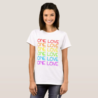 One Love Pride Rainbow T-shirt