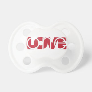 One Love (r) pacifier