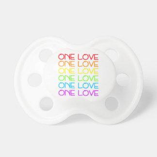One Love Rainbow Pride Dummy