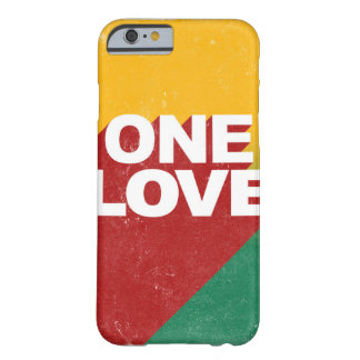 One love rasta barely there iPhone 6 case