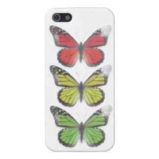 One love Rasta Butterfly Iphone 5 Case