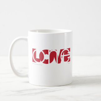 One Love (red) Coffee Mug