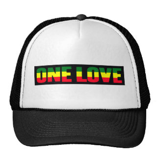 One Love reggae cap Trucker Hat