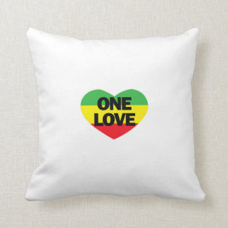 One Love reggae pillow