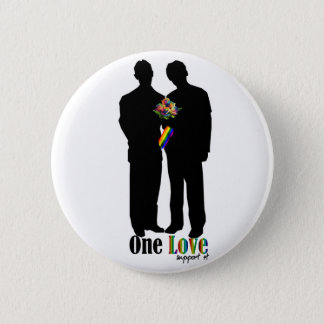 One Love..show your support 2 Inch Round Button