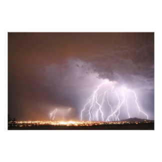 One Mad Storm Photo Print