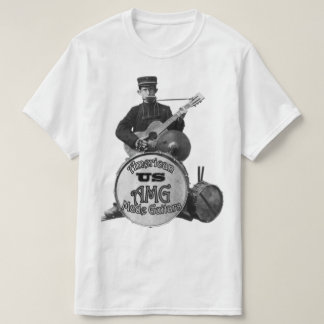 One Man Band by USAMG T-Shirt