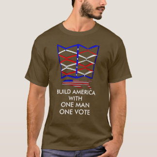 One Man Build America Men's Basic T-Shirt