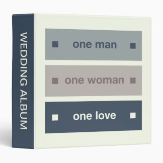 One Man, One Woman, One Love 3 Ring Binder