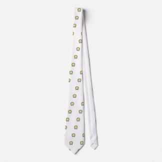 one measured luck tie