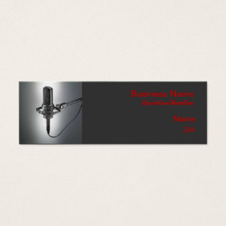 One Mic Business Card