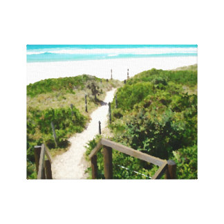 One Mile Beach Canvas Print