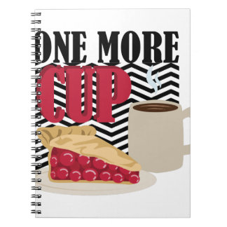 One More Cup Notebooks