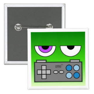 One More Go Badge 2 Inch Square Button