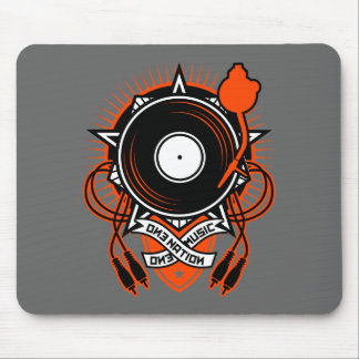 """One Nation, One Music"" Mouse Pad"