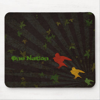 One Nation Rasta Mouse Pad