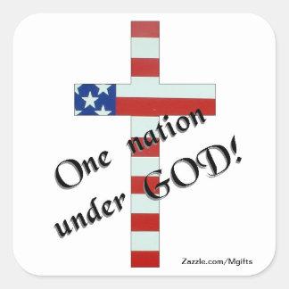 One Nation Square Sticker