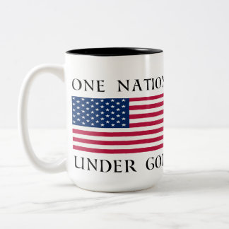 One Nation Two-Tone Coffee Mug
