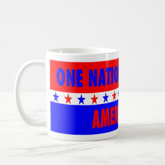 One Nation Under God, America First Coffee Mug