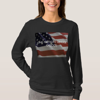 ONE NATION UNDER GOD(S) LONGSLEEVE T-Shirt