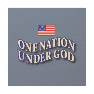 ONE NATION UNDER GOD WALL ART