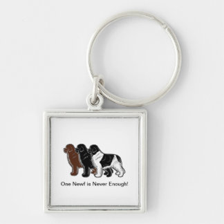 One Newf is Never Enough! Keychain