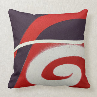 One Note Swirl Pillow