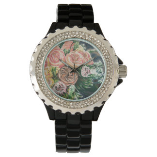 One of a Kind Floral Bouquet Watch