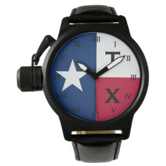One of a kind gift idea for him | Texas flag watch