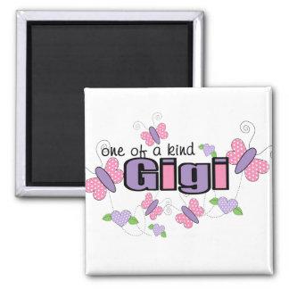 One Of A Kind Gigi Square Magnet