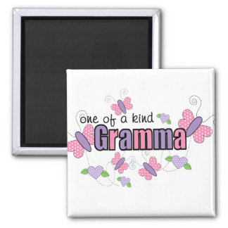 One Of A Kind Gramma Square Magnet