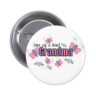 One Of A Kind Grandma Button