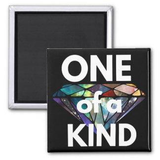 One of a Kind II Square Magnet