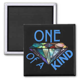 One of a Kind Square Magnet