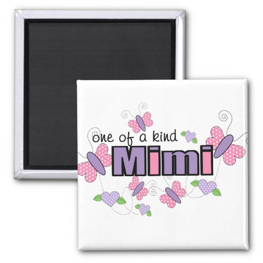 One Of A Kind Mimi Fridge Magnets