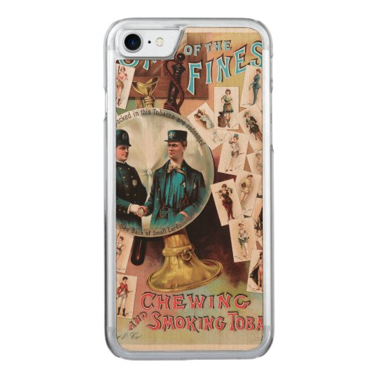 One of the Finest. Chewing and Smoking Tobacco. Carved iPhone 8/7 Case