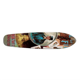 One of the Finest. Chewing and Smoking Tobacco. Custom Skate Board