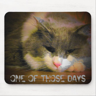 One of those days, Sad Kitty Mouse Pad