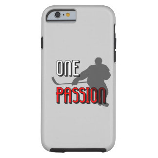one passion hockey tough iPhone 6 case