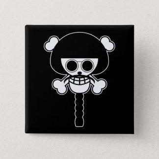 One Piece - Sengoku 2 Inch Square Button