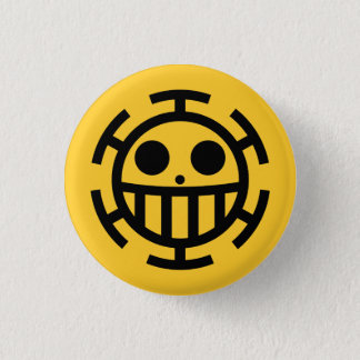 One Piece - Trafalgar Law 1 Inch Round Button