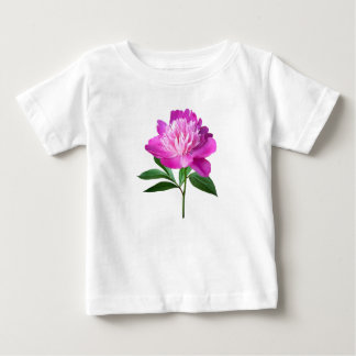 One Pink Peony Baby T-Shirt