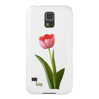 One Pink Spring Tulip Nature Floral Photo Cases For Galaxy S5